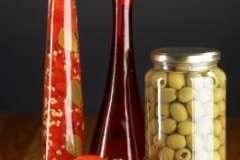 """Вкусные рецепты: Креветки в медовой глазури, закуска""""хорошая"""", Фасолевый салат «по-гречески»"""